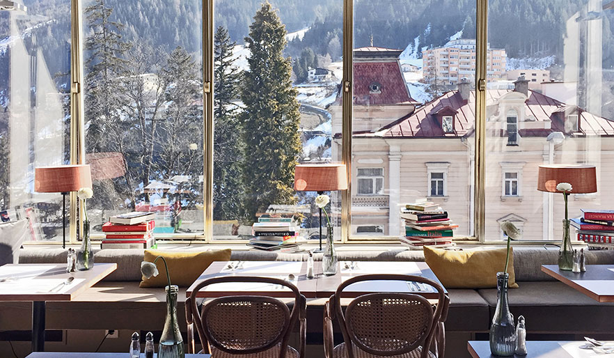 Bad Gastein View Restaurant Design